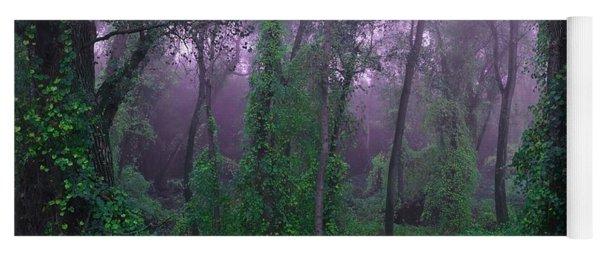 Magical Fairy Forest Yoga Mat