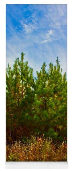 Magical Pines Yoga Mat