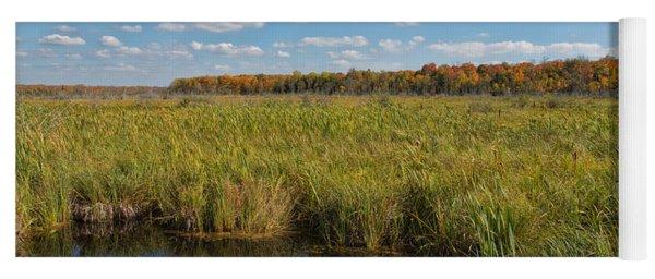 Magnificent Minnesota Marshland Yoga Mat