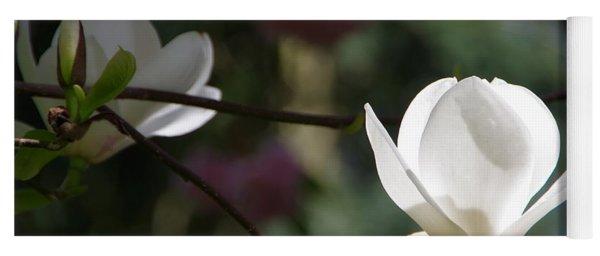 Magnolia Blossoms Yoga Mat
