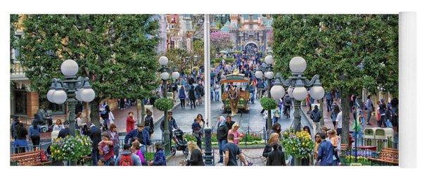 Main Street Disneyland 01 Yoga Mat