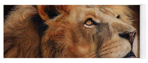 Majestic Lion Yoga Mat