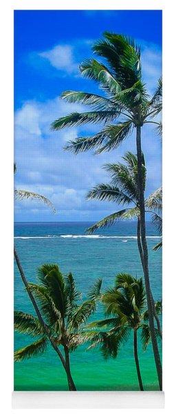 Majestic Palm Trees Yoga Mat