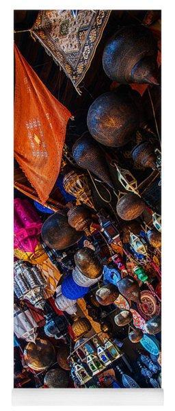 Marrakech Lanterns Yoga Mat