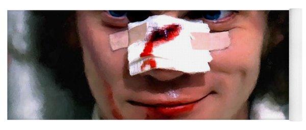 Malcolm Mcdowell As Alex In The Film Clockwork Orange By Stanley Kubrick 1971 Yoga Mat