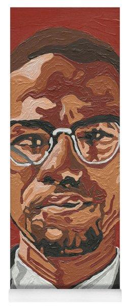 Malcolm X Yoga Mat