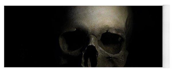 Male Skull Yoga Mat