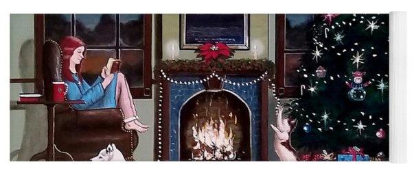 Mallory Christmas Yoga Mat