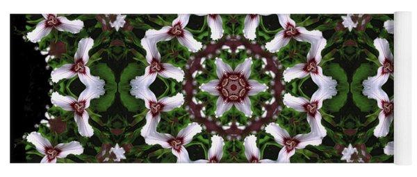 Mandala Trillium Holiday Yoga Mat