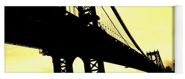 Manhattan Bridge Yoga Mat