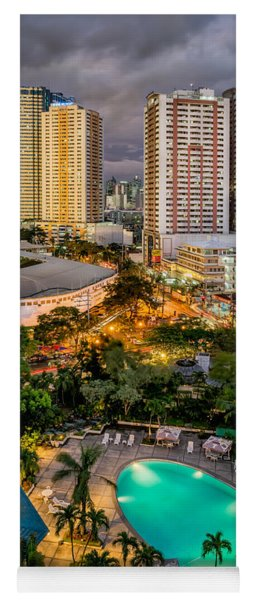 Manila City Yoga Mat