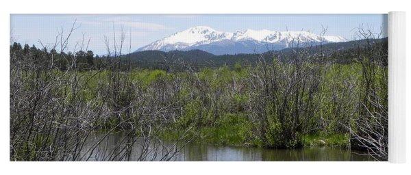 Lake Manitou Sp Woodland Park Co Yoga Mat