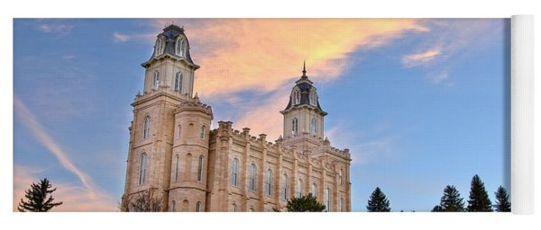 Manti Temple Morning Yoga Mat