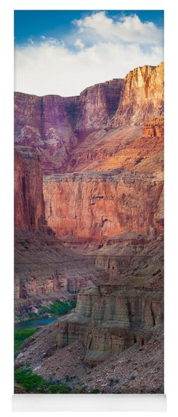 Marble Cliffs Yoga Mat