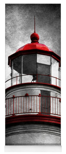 Marblehead Lighthouse - Alternate Reality Yoga Mat