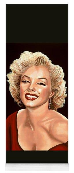 Marilyn Monroe 3 Yoga Mat