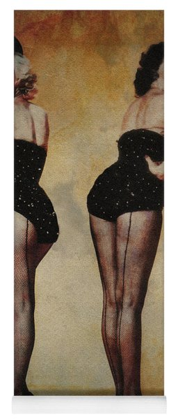 Marilyn Monroe And Jane Russell Yoga Mat
