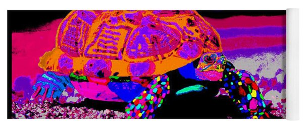 Marine Corporals Turtle In Peace Paint V3 Yoga Mat