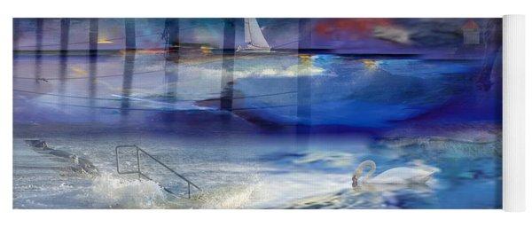 Maritime Fantasy Yoga Mat