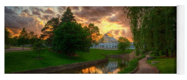 Marjorie Mcneely Conservatory Reflections Yoga Mat