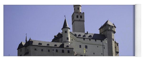 Marksburg Castle 18 Yoga Mat