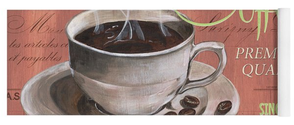 Marsala Coffee 1 Yoga Mat