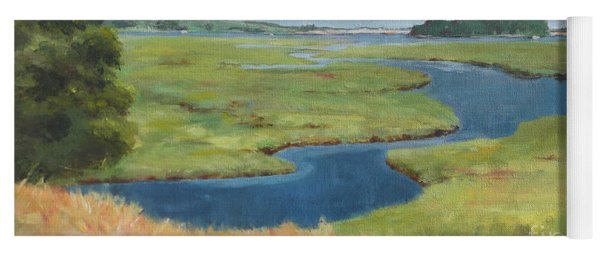 Marshes At High Tide Yoga Mat