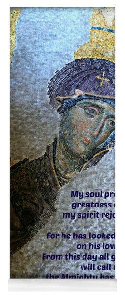 Mary's Magnificat Yoga Mat