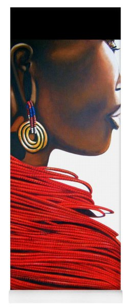 Masai Bride - Original Artwork Yoga Mat