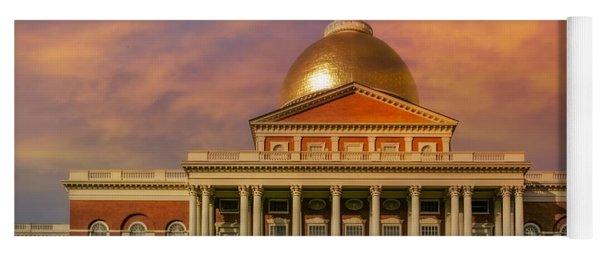 Massachusetts State House Yoga Mat