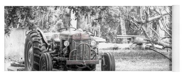 Massey Ferguson Tractor Yoga Mat