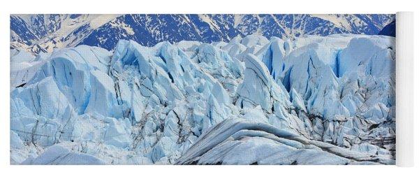 Matanuska Glacier Yoga Mat