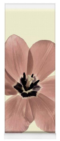 Mauve Tulip Transparency Yoga Mat