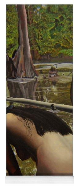 May Morning Arkansas River  2 Yoga Mat
