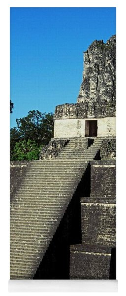 Mayan Ruins - Tikal Guatemala Yoga Mat