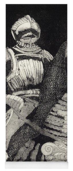 Medieval Knight On Horseback - Chevalier - Caballero - Cavaleiro - Fidalgo - Riddare -ridder -ritter Yoga Mat