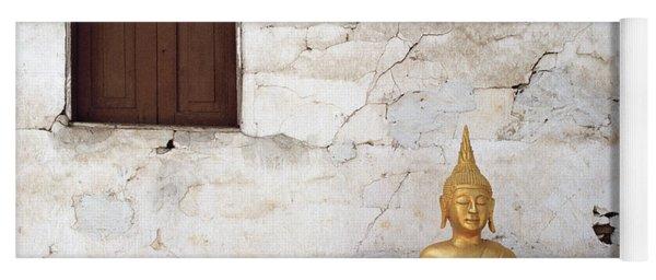 Meditation In Laos Yoga Mat