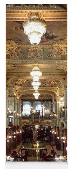 Meet Me For Coffee - New York Cafe - Budapest Yoga Mat