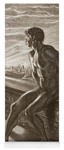 Memnons Statue, 1731 Yoga Mat