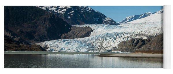 Mendenhall Glacier In Alaska Yoga Mat