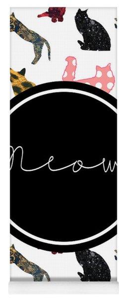 Meow Yoga Mat