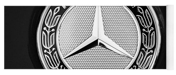 Mercedes-benz 6.3 Gullwing Emblem Yoga Mat