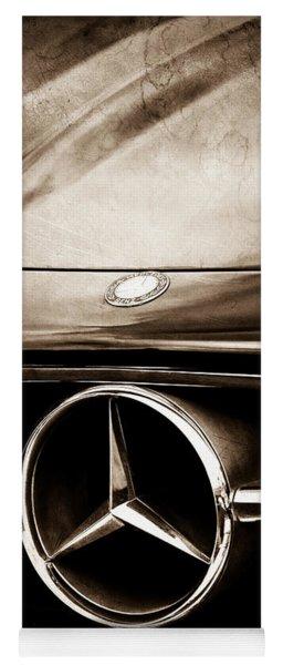 Mercedes-benz Grille Emblem Yoga Mat