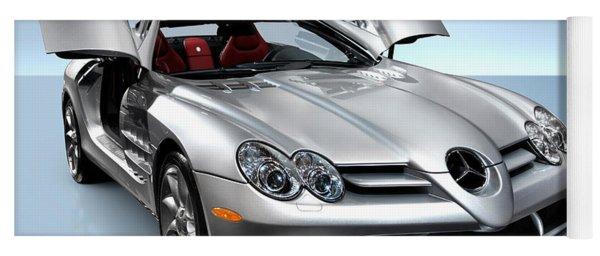 Mercedes Benz Slr Mclaren Yoga Mat