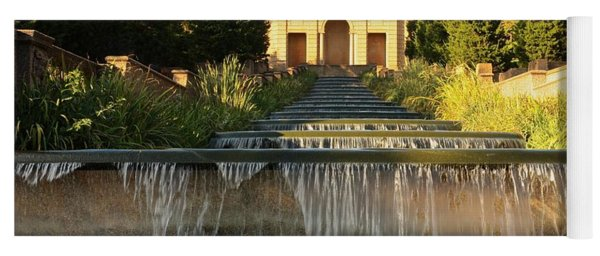 Meridian Hill Park Waterfall Yoga Mat