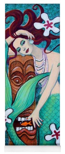 Mermaid's Tiki God Yoga Mat
