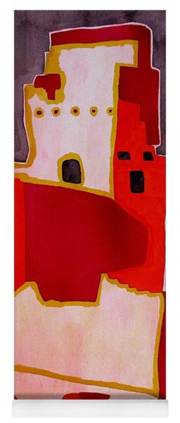 Mesa Verde Original Painting Sold Yoga Mat