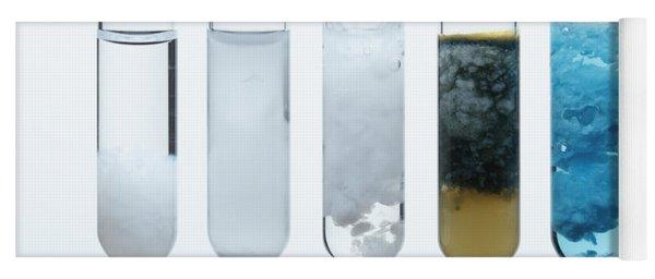 Metal Carbonate Precipitates Yoga Mat