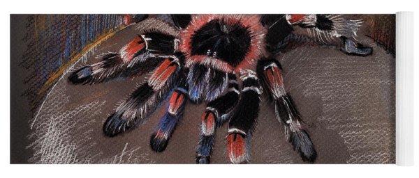 Mexican Redknee Tarantula Yoga Mat