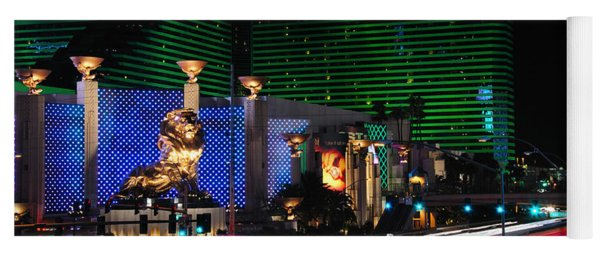 Mgm Grand Hotel And Casino Yoga Mat